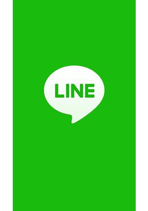①LINEのアプリを立ち上げる