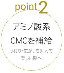 アミノ酸系CMCを補給